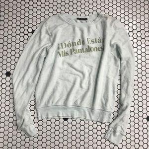 Nwot Wildfox sweatshirt size small